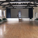 Village hall inside