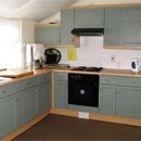 Village hall kitchen