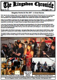Kingsdon Chronicle August 2017