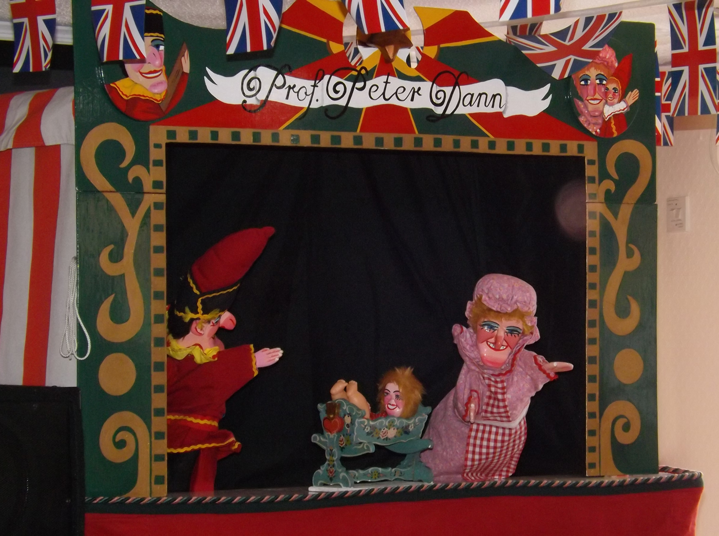 Peter Dann - Member of the Punch & Judy Fellowship